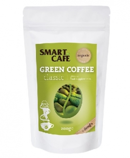 Green Cofee - zelená káva (bez kofeinu) BIO RAW 200 g - Dragon Superfoods