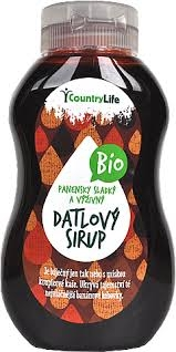Country life - Sirup datlový 350 g BIO